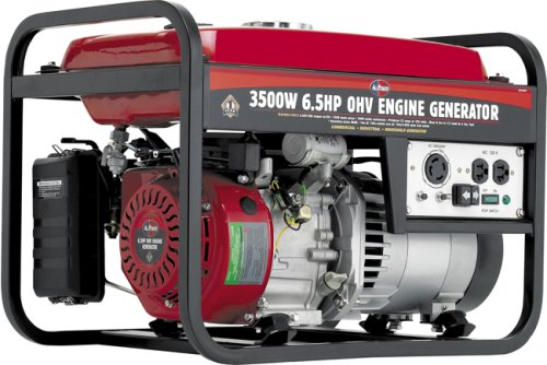 All Power America APG3001 3,500 Watt 6.5 HP OHV 4-Cycle Gas Powered Portable Generator
