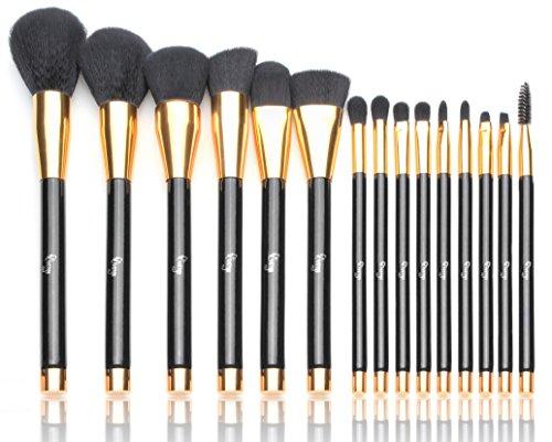 qivange-makeup-brushes-15-pcs-perfect-starter-kit-liquid-foundation-powder-blending-brush-soft-brist