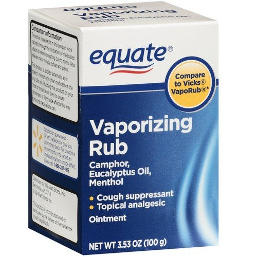 Equate - Vaporizing Rub, 3.53 oz (Compare to