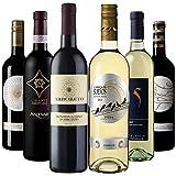 【Amazonワインエキスパート厳選】おうちバル料理に合うイタリア・スペインワイン飲み比べ750ml×6本セット