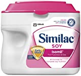 Similac Sensitive Isomil Soy, Powder, 1.45-Pounds (Pack of 6) (Packaging May Vary)