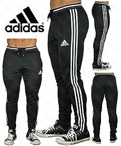 adidas Men's Soccer Condivo 16 Training Pants, Black/White, 3X-Large