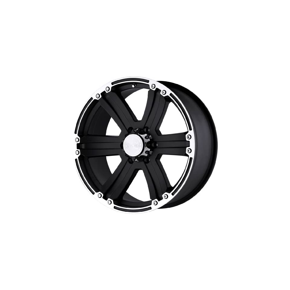Black Rhino Wheels Dune Series Matte Black Wheel with Machined Lip (20x9/6x139.7mm)