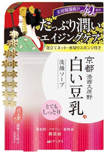 マックス 京都白い豆乳洗顔ソープ 100g