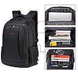 Uoobag KT-01 Slim Business Laptop Backpack Anti-theft Travel Bag Up To 15.6 Black