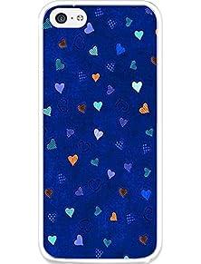 buy 5C Case Iphone 5C Case Ultra Slim Hard Cover For Iphone 5C Cute Blue Pattern