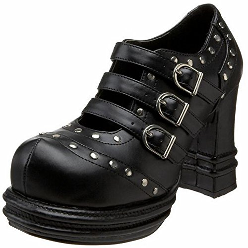 Demonia Vampire-08 - scarpe gotiche punk Industrial plateau 36-43, US-Damen:EU-43 / US-12 / UK-9