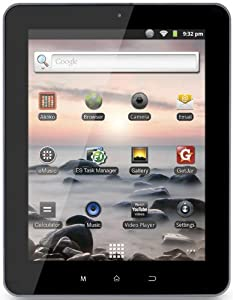 COBY Tablet MID8127-4RED 20,3cm (Wifi,Android2.3)