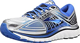 Brooks Men\'s Glycerin 13 Silver/ElectricBrooks/Black Running Shoe 11.5 Men US
