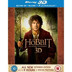 Hobbit: An Unexpected Journey [Blu-ray]
