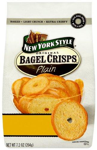 New York Style Plain  Bagel Chips 204g (3 pack)