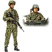 タミヤ 1/16 ワールドフィギュアシリーズ No.16 陸上自衛隊 戦車乗員セット 36316