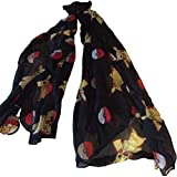 Pokemon Pikachu Pokeball Toss Print Viscose Soft Costume Scarf