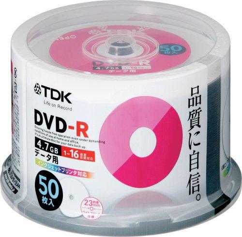 TDK データ用DVD-R DR47PWC50PU 50枚