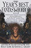 The Year's Best Fantasy and Horror 2008: 21st Annual Collection (Year's Best Fantasy & Horror) (031238047X) by Link, Kelly