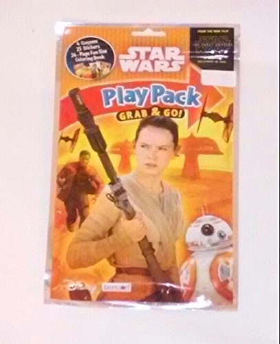 Star Wars Movie 2015 Rey Play Pack Grab n Go