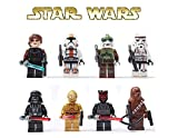 Star Wars Figures 8pcs/lot Building Bloks Sets Model Toys Minifigures Brick Toys