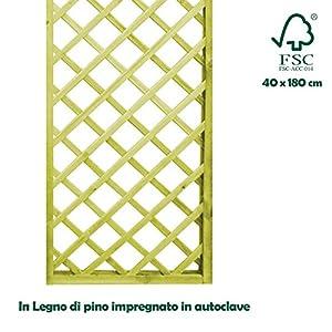 Pannello grigliato separe 39 in legno impregato per esterno for Separe in legno per interno