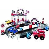 Ecoiffier - 3079 - Jeu de Construction - Circuit Racing Fast Car
