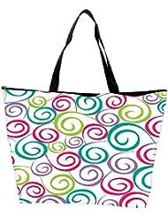 Snoogg Colorful Pattern Amazed Designer Waterproof Bag Made Of High Strength Nylon - B01I1KI6N8