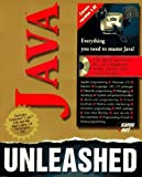 img - for Java Unleashed with Java Power Pack CD-ROM by Michael Morrison (1996-05-04) book / textbook / text book