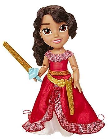 Taldec 46667 Disney Poupée Elena d'Avalor - Mouvements Magiques, 38 cm