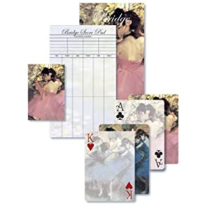 Dancers in Blue and Dancers in Pink - Bridge Playing Cards Gift Set