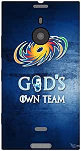 The Racoon Grip God's Own Team hard plastic printed back case / cover for Nokia Lumia 1520