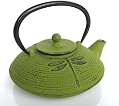 Classic Japanese Tetsubin Cast Iron Positivity Teapot - Delightful to Look at Our Gorgeous Cast Iron
