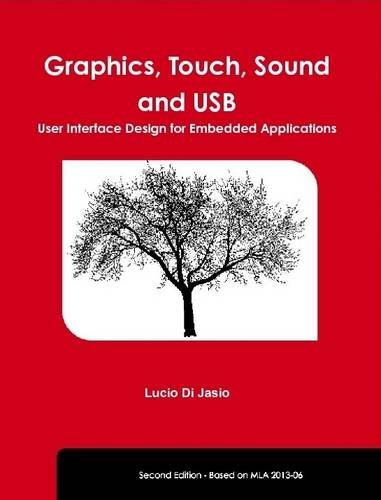 Graphics, Touch, Sound and USB, User Interface Design for Embedded Applications