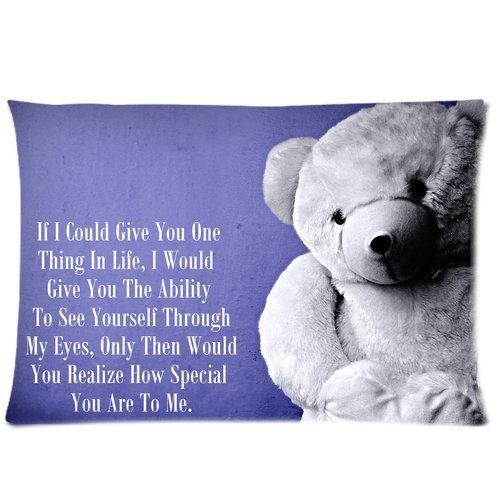 Bear Body Pillow back-274717