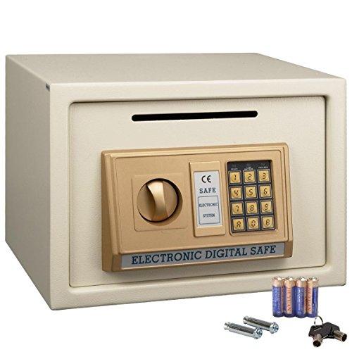 "14"" Digital Depository Drop Cash Safe Box Gun Jewelry Home H"