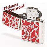 ヴィヴィアンウエストウッド Vivienne Westwood ライター メンズ レディース ジッポライター ZIPPO ロゴウェブ レッド 121800-19-F