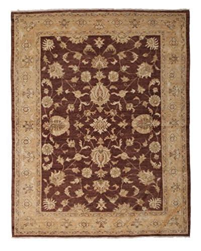 Solo Rugs Oushak Oriental Rug, Brown, 5' 3 x 6' 8