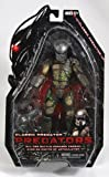 51ye%2BqToTCL. SL160  NECA Predators 2010 Movie Series 2 Action Figure Battle Damaged Classic Predator Cracked Mask
