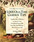 1001 Old-Time Garden Tips: Timeless B...