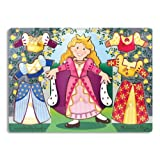 Melissa & Doug Princess Dress-Up Mix 'n Match Peg ~ Melissa & Doug