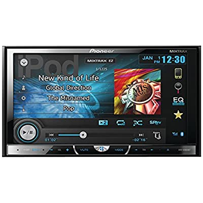 Pioneer AVHX4600BT 7-Inch USB Bluetooth Hi-Volt Pandora DVD Player