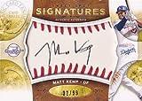 MLBカード【マット ケンプ】2009 Sweet Spot Signatures Red Stitch Black Ink 99枚限定!(32/99)(Matt Kemp)