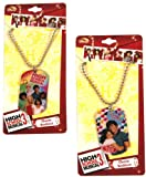 High School Musical charm necklace- Disney character dog tag
