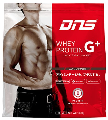 DNS WHEY PROTEIN G+ (ホエイプロテインG+) エスプレッソ風味 1000g