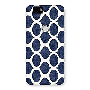 Special Old Cage Print Back Case Cover for Google Nexus-6P