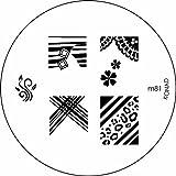 Konad Stamping Nail Art Image Plate - M81