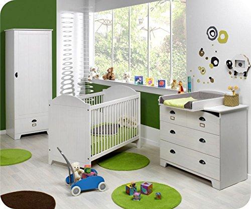 Babyzimmer komplett Charme weiß online kaufen