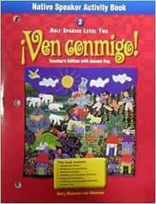 Native Speaker Activity Book Spanish 2 (Ven conmigo ...