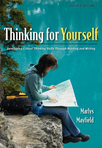 Critical thinking through reading and writing ebook