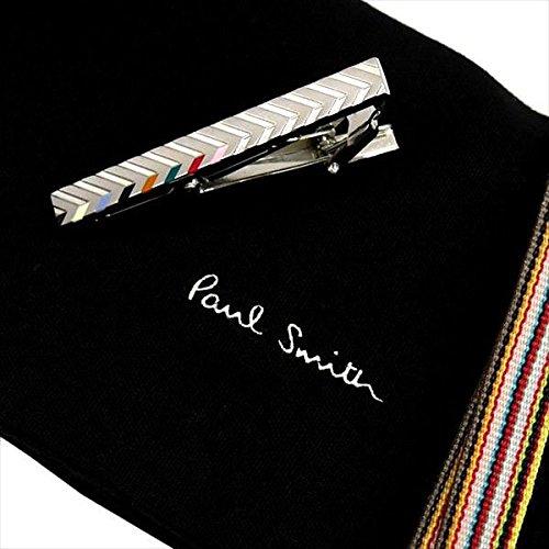 (ポールスミス) Paul Smith タイバー CHEVRON APXA/TPIN/CHEV 0626296 シルバー マルチカラー ネクタイピン メンズ 男性用 アクセサリー