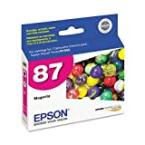 Epson T087320 - T087320 UltraChrome Hi-Gloss 2 Ink, Magenta-EPST087320
