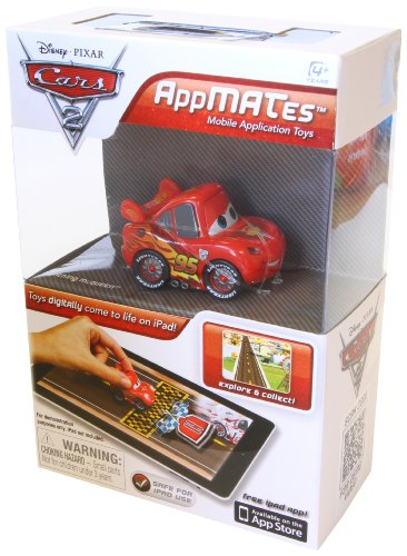 Disney Pixar Cars 2 AppMATes Lightning McQueen Single Pack