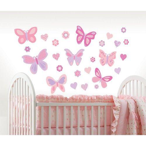Koala Baby Butterfly Kisses Wall Art Kit - 1